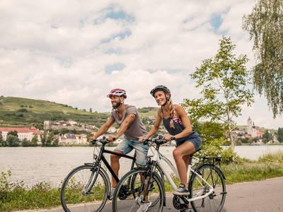 Donauradweg-Wachau-Krems